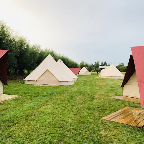 Bed & Breakfast Tent | de Sfeerstal